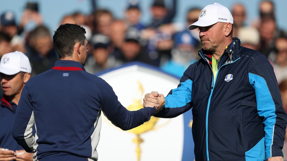 Bjorn '85 percent' done with Ryder Cup pairings