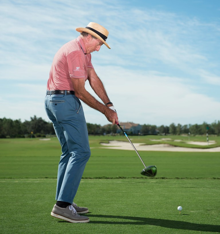 David Leadbetter says use your hips to eliminate popping up tee shots