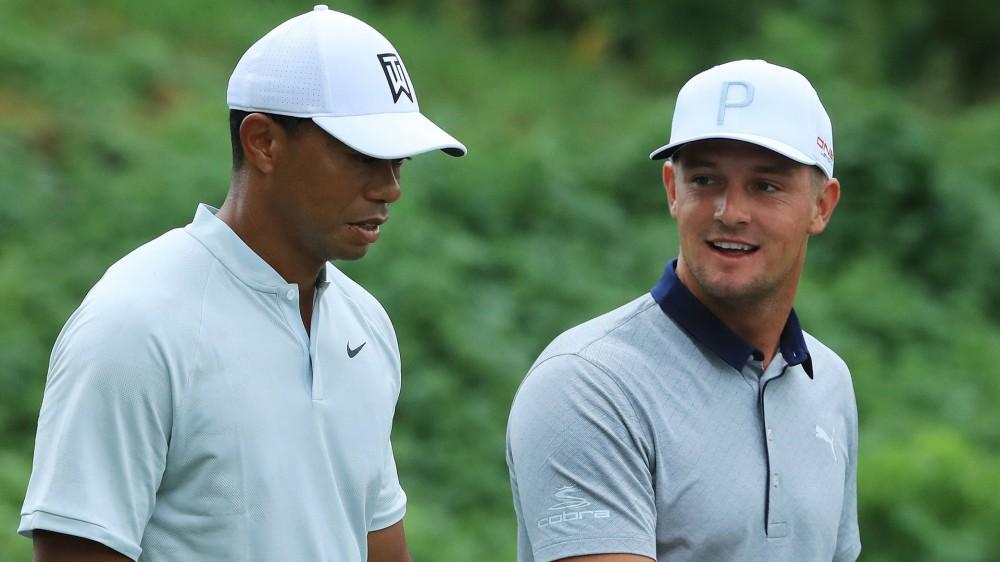 DeChambeau relishes chance to pick Tiger's brain