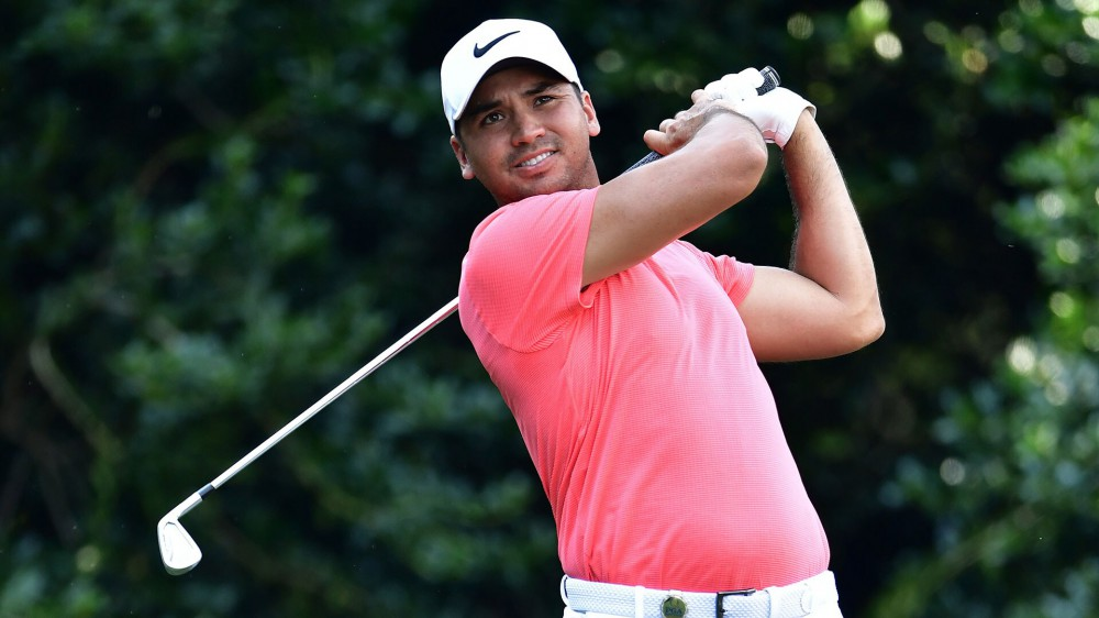 Eagle highlights Day's late rally to 1-under 70