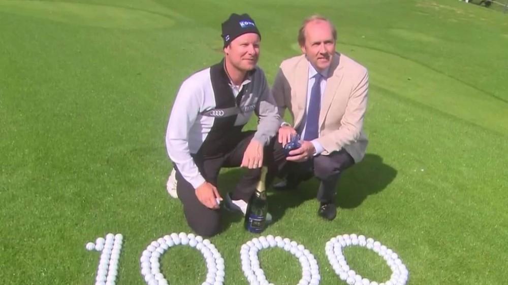 European Tour celebrates 1,000 holes-in-one