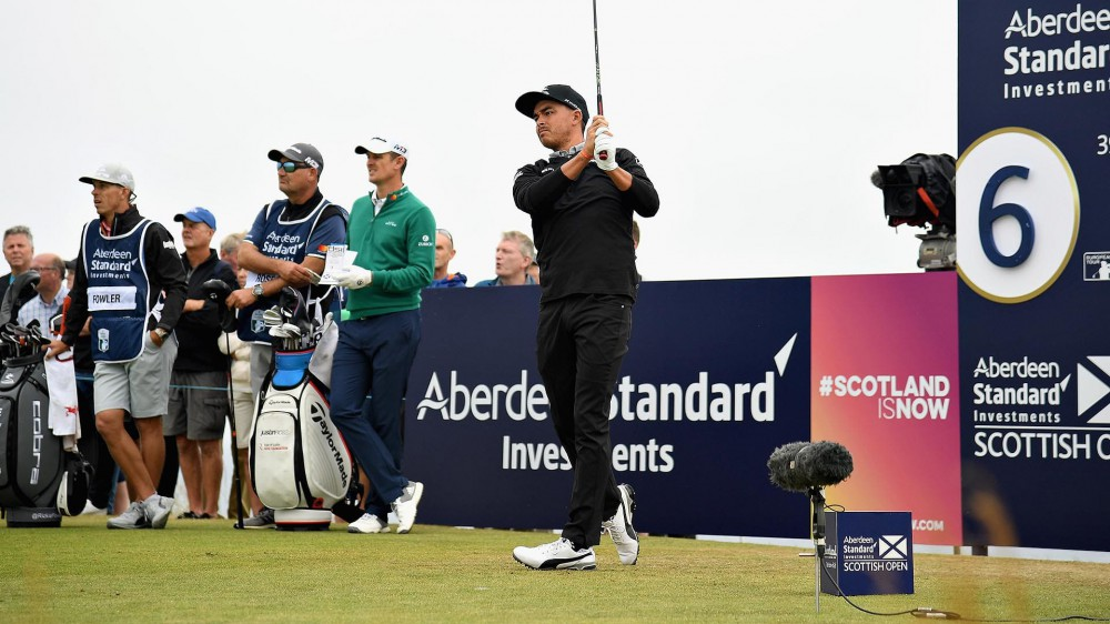 Fowler opens with 64 at site of 2015 Scottish win