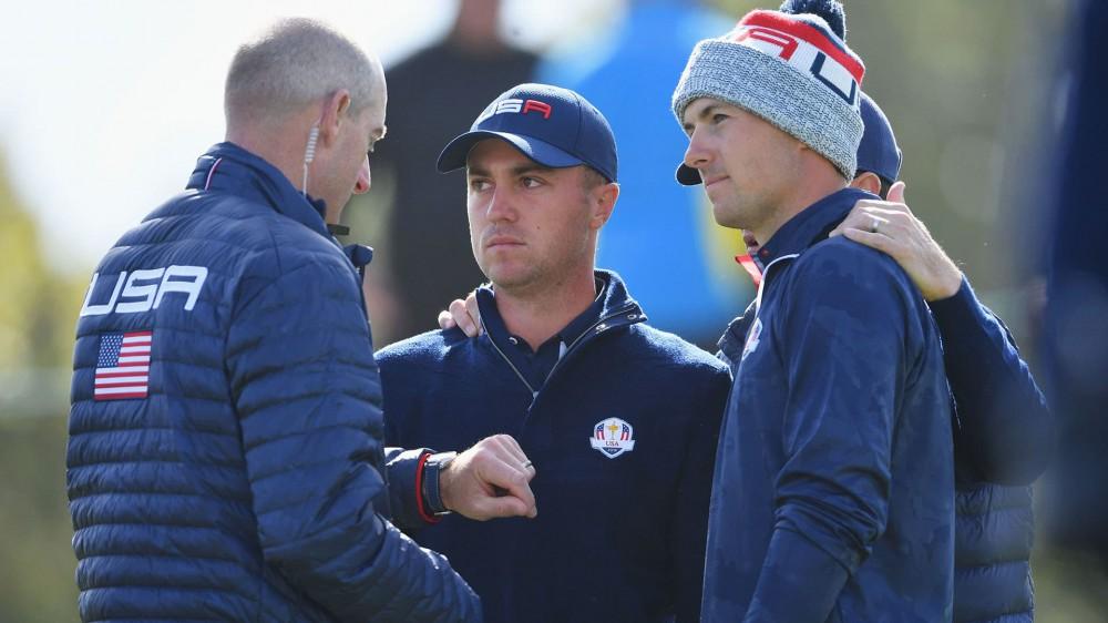 Got your back, Cap: JT knew Spieth pairing 'in advance'