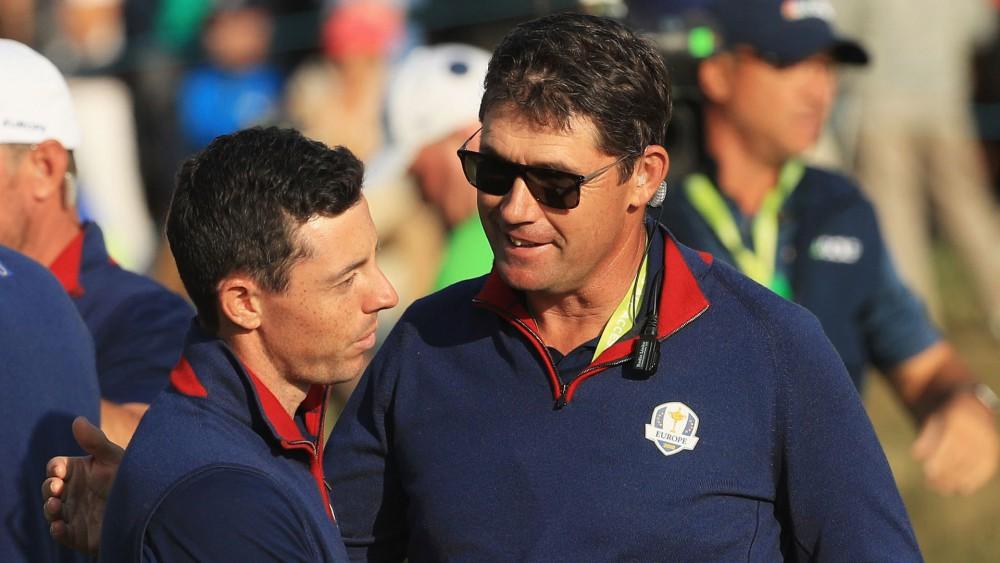 Harrington happy about Rory keeping European Tour membership