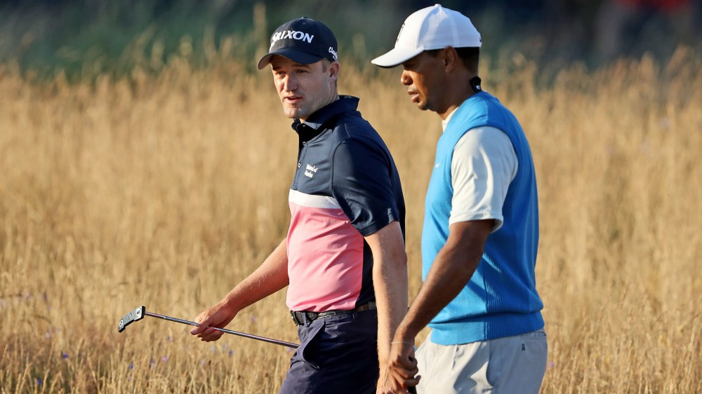 Knox relishes round with 'mythical figure' Woods