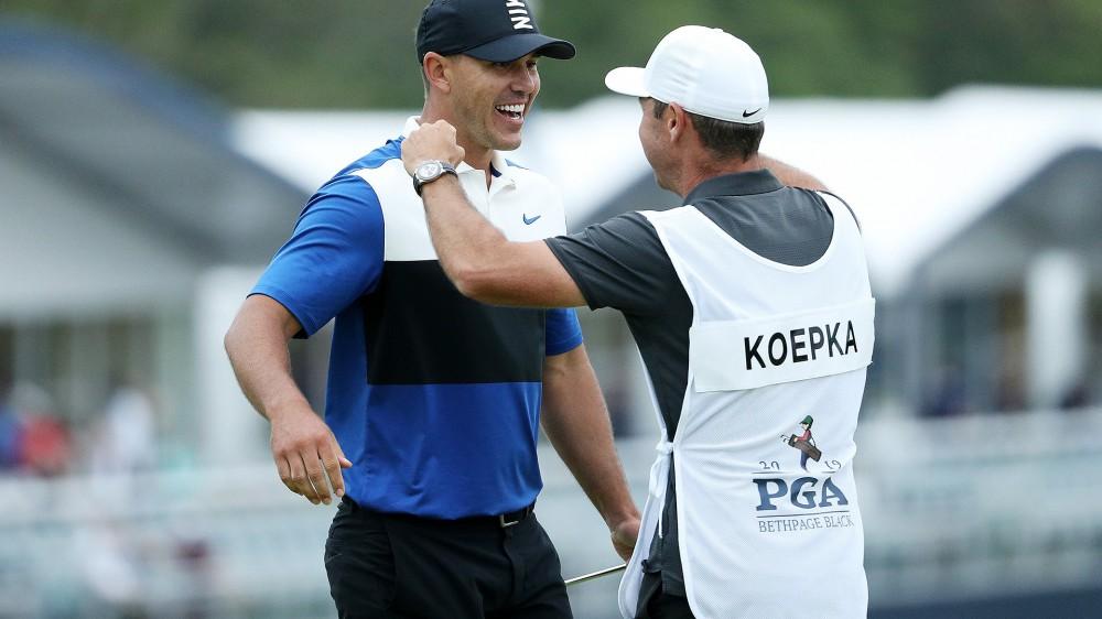 Koepka returns to world No. 1 with PGA win