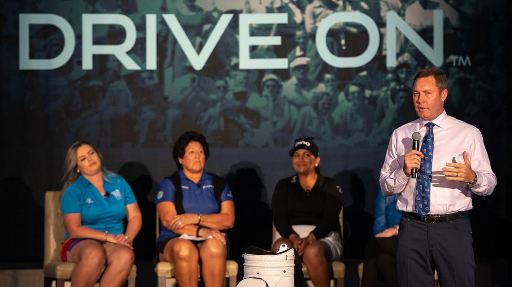 LPGA embracing history, pushing forward with 'Drive On' branding