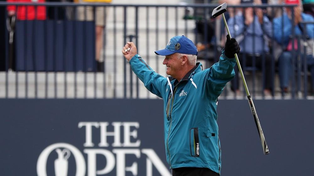 Lyle birdies last hole in likely his final Open start