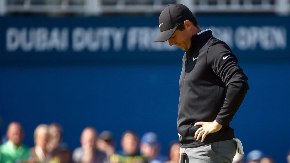 McIlroy bogeys last two holes, shoots 73 at Irish Open