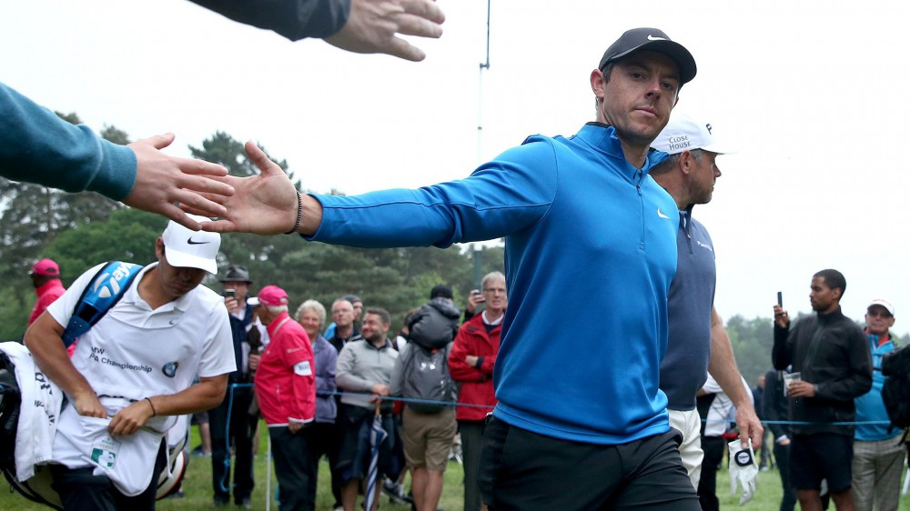 McIlroy pleased with opening 67 at BMW PGA