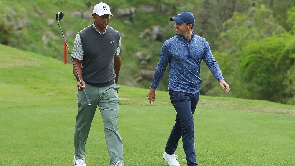 McIlroy recalls lunch with Woods during 2017 health issues