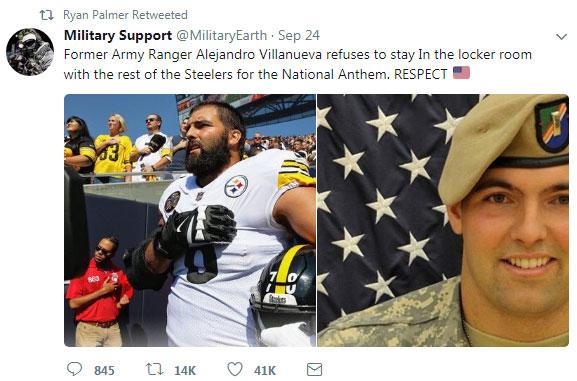 Pros on both sides of anthem protest debate