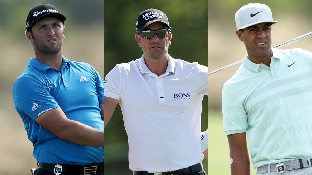 Rahm, Stenson, Finau share 54-hole Hero lead