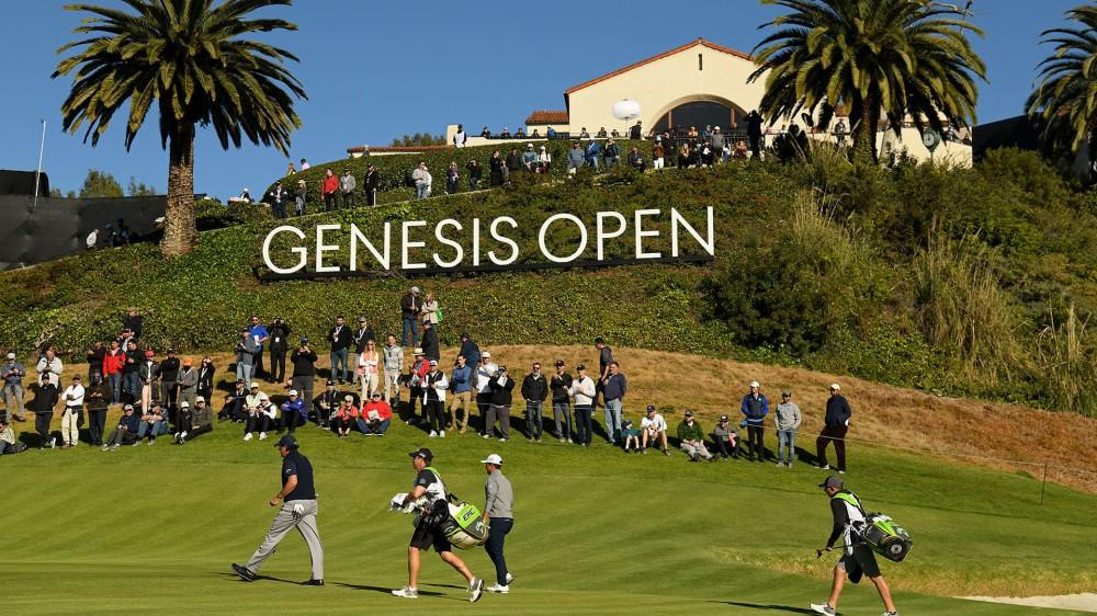 Rd. 3 of Genesis Open begins; Leaders off late