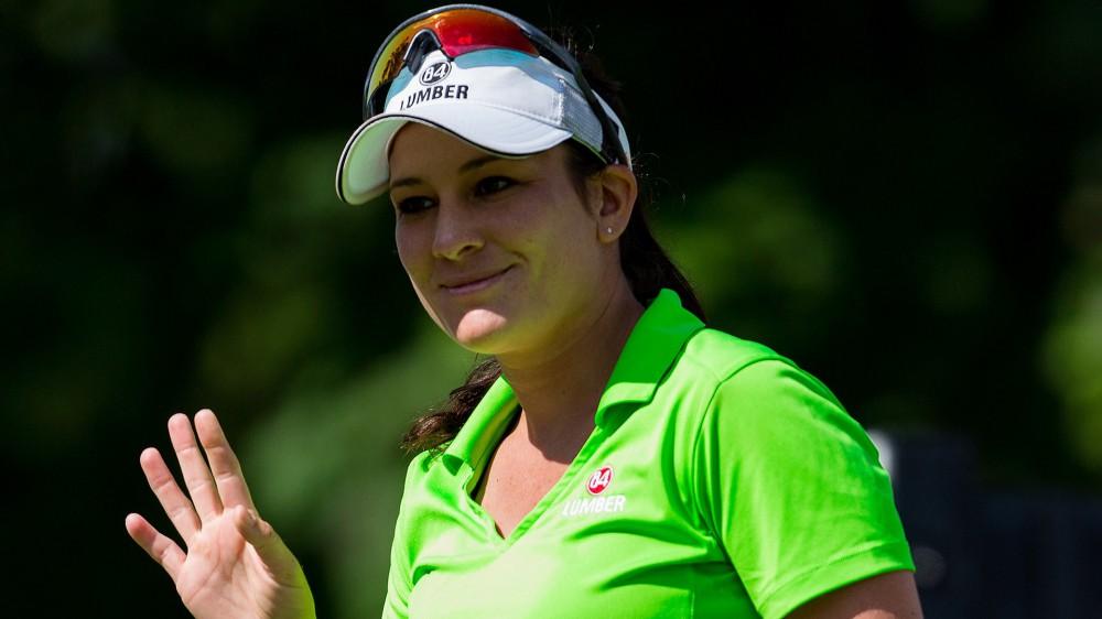 Rohanna leads abbreviated Symetra Tour Championship