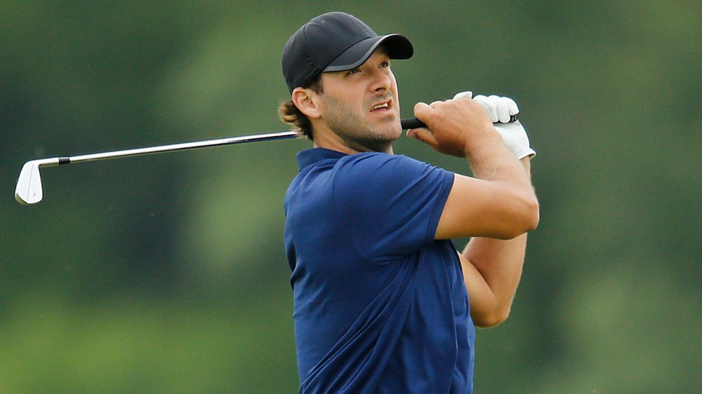 Romo makes eagle, opens with 76 at Nelson