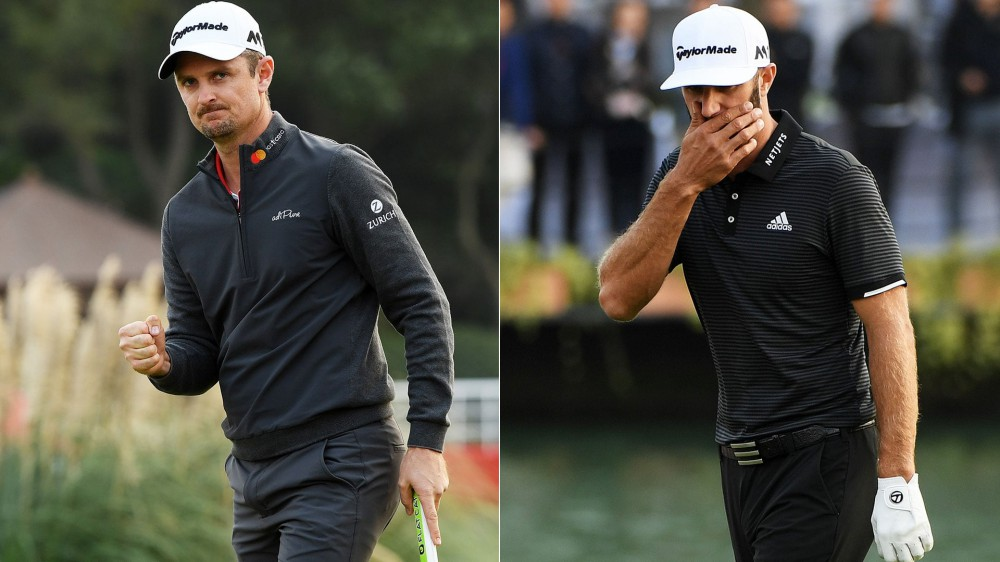 Rose, Johnson look to re-take No. 1 ranking from Koepka