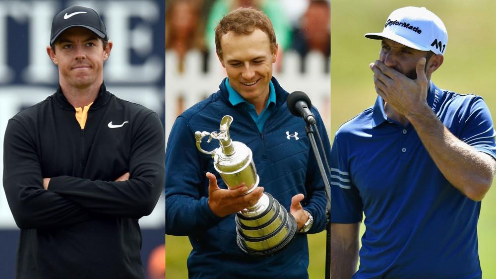 Spieth, DJ, Rory open as U.S. Open betting favorites