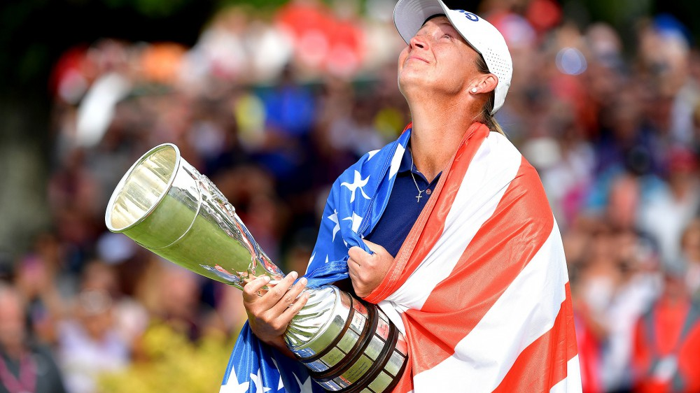 Stanford wins Evian after Olson 3-putts