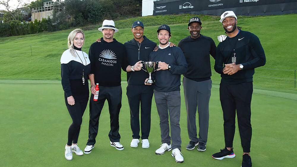 Team Eldrick wins inaugural Celebrity Cup at Genesis