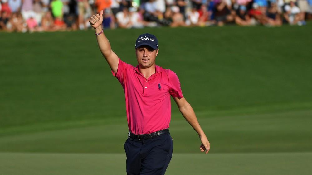 Thomas wins his first major title at the PGA