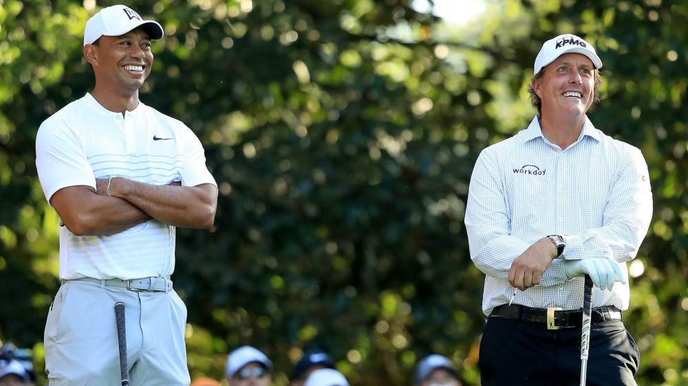 Tiger, Phil, Rickie excited for Players grouping