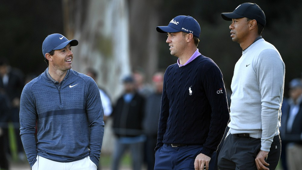 Tiger, Rory and JT grouped at PGA Championship