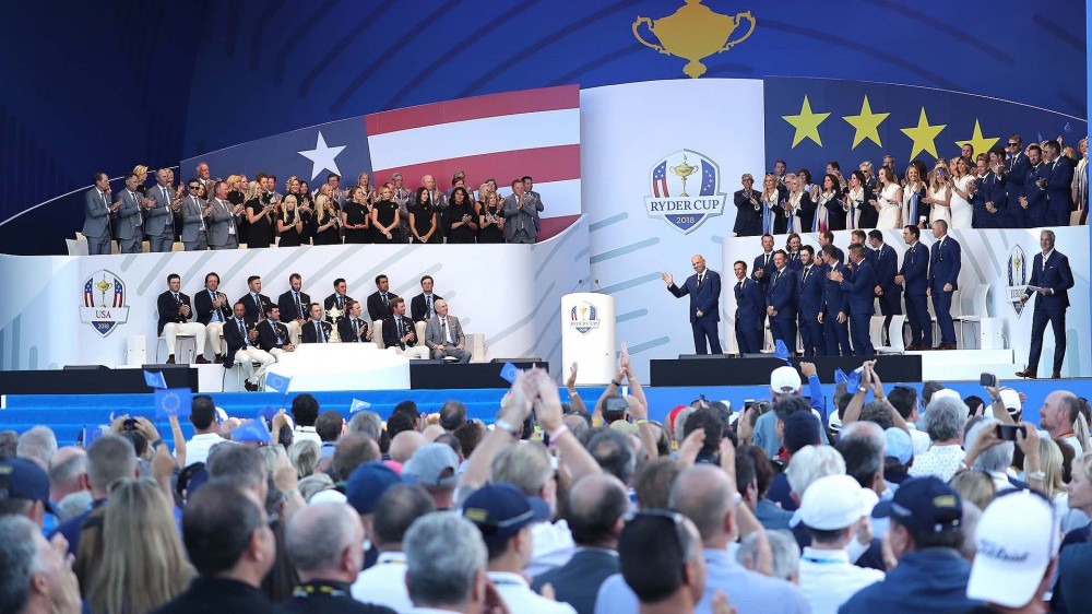 U.S. favored over Europe in opening fourball matches