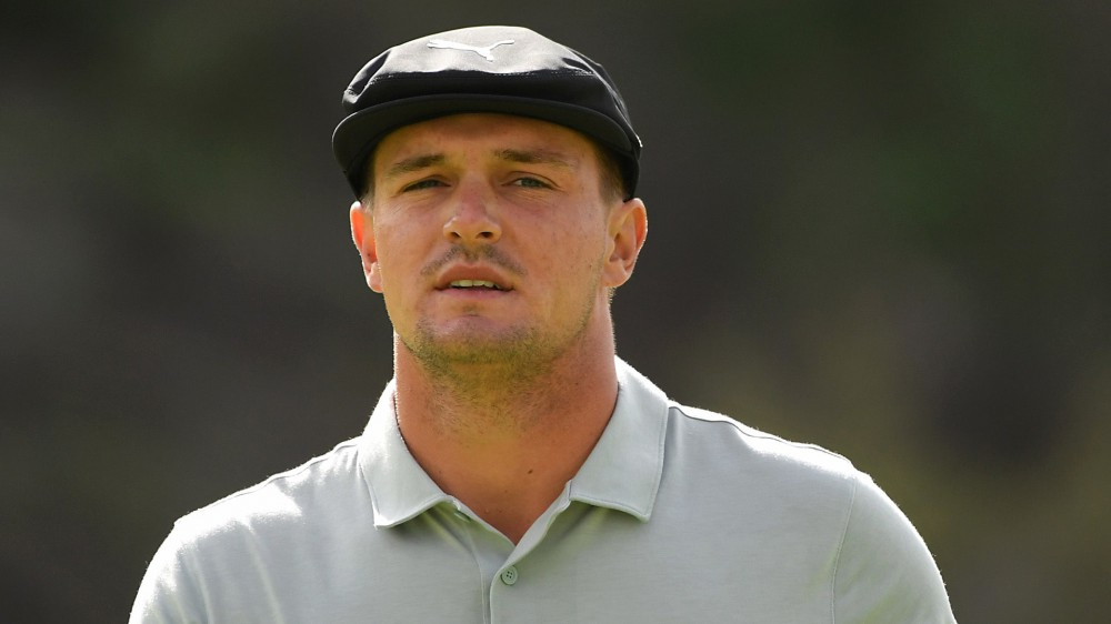 Watch: Bryson holes out three times in one day