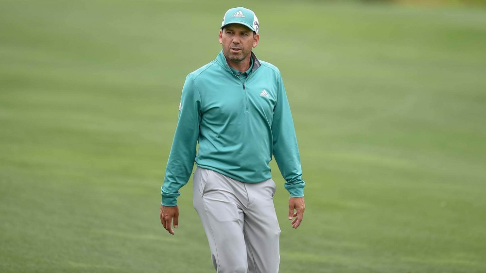Watch: Garcia loses hole after missing tap-in before Kuchar can concede putt