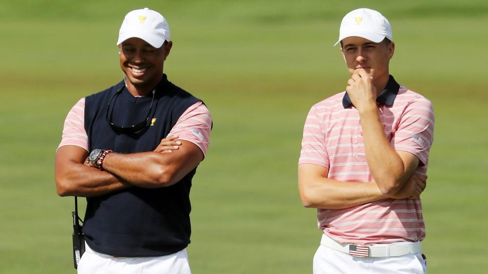 Woods-Spieth highlight final round pairings