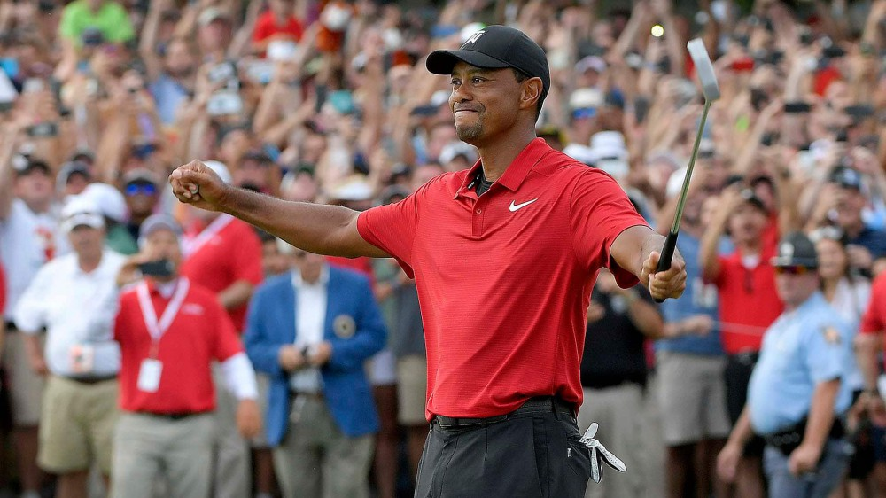 Woods listed among America's wealthiest celebrities