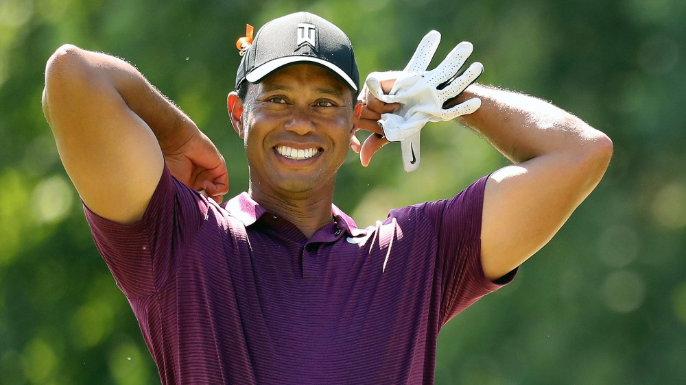Woods most proud of two finishing par saves
