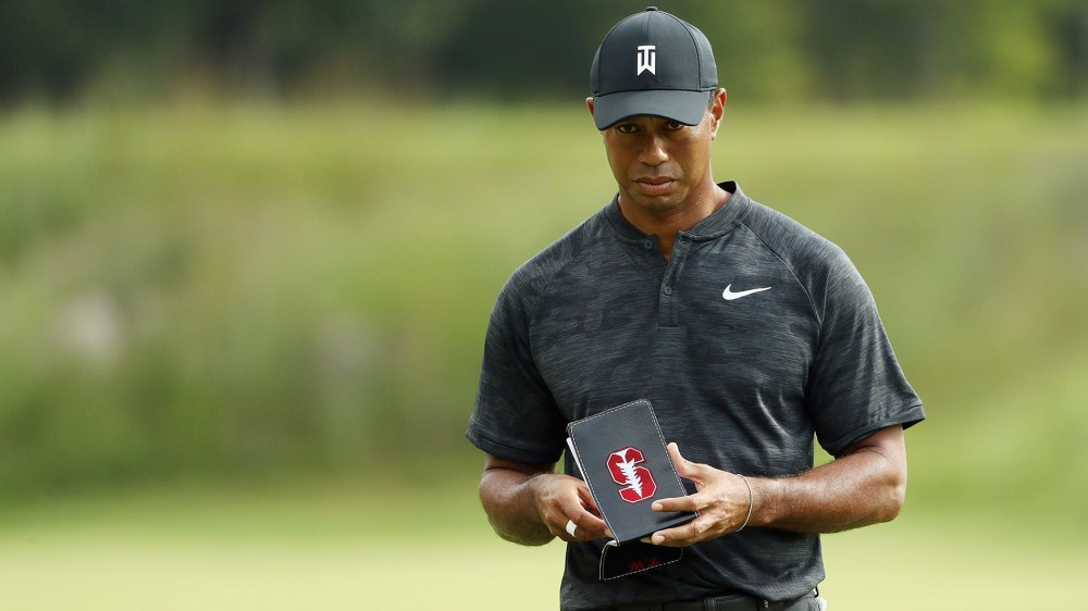 Woods trying to pace his practice time