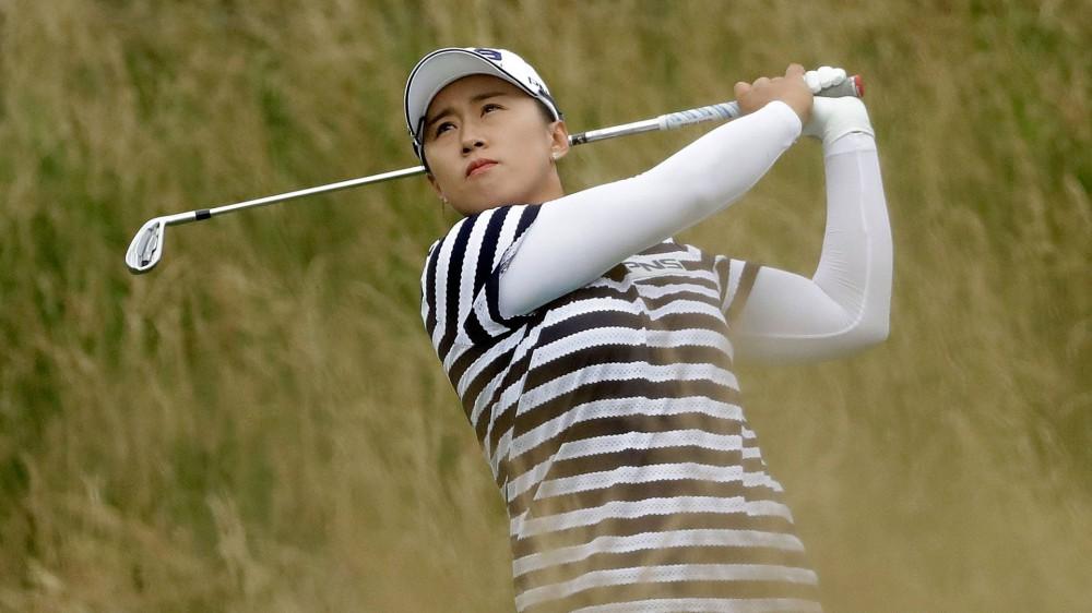 Yang, Choi lead halted KPMG Women's PGA