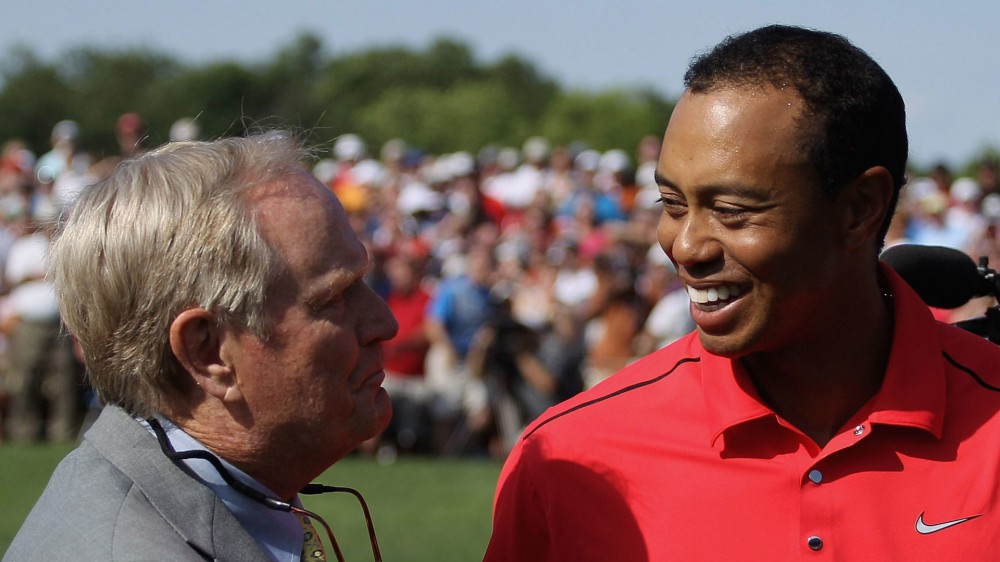 Jack on Tiger's 15th major: 'He's got me shaking in my boots'
